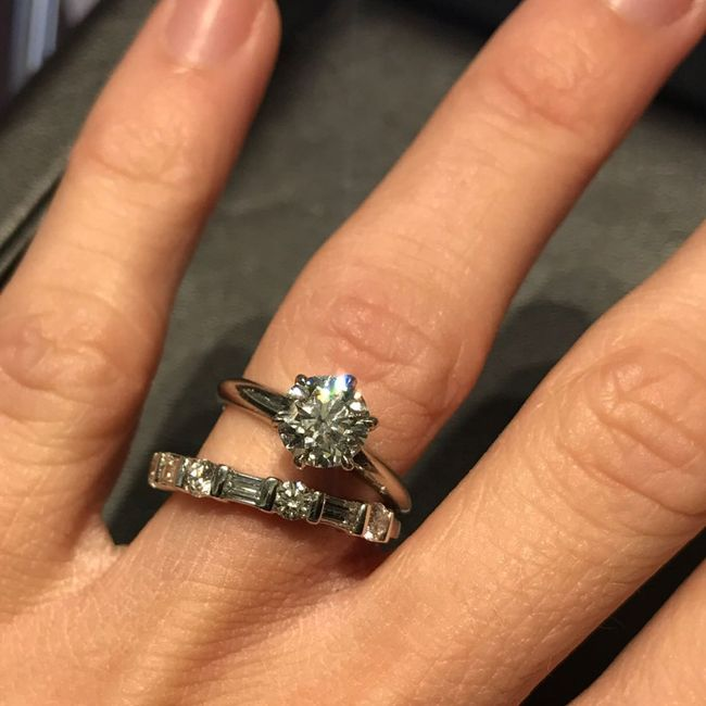 Solitaire ring - what kind of band - 2