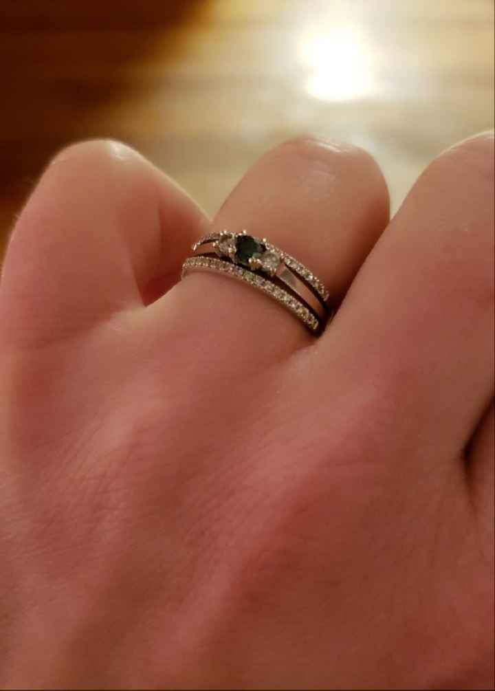 Two Wedding Bands - 1