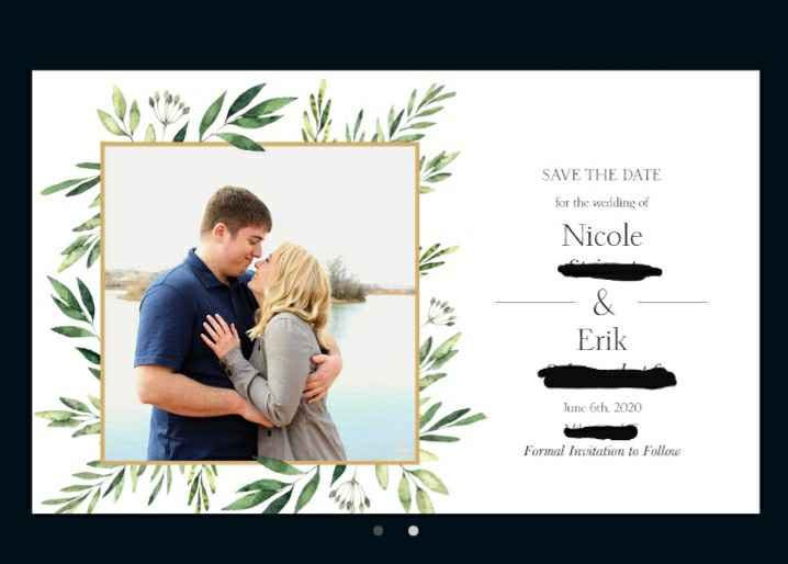 Show me your save the dates!!! - 1