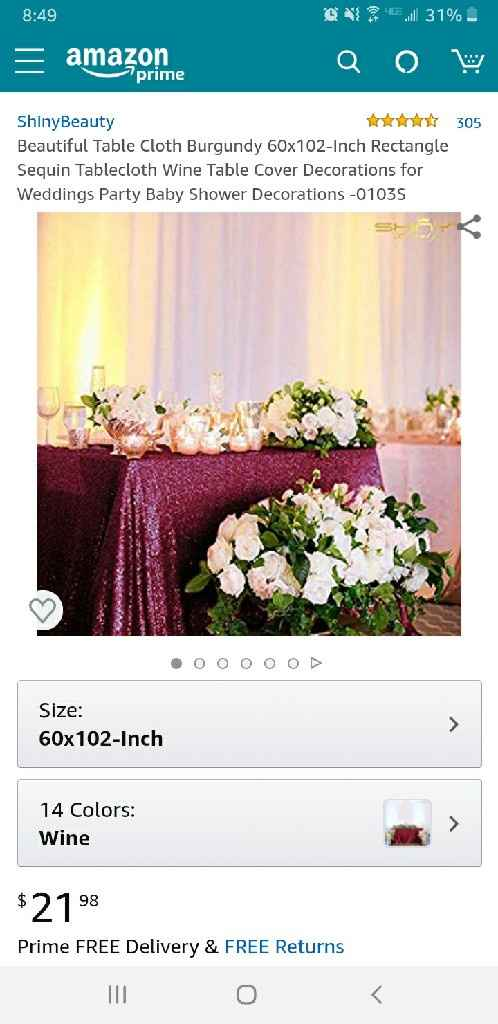Affordable Sequin Tablecloths Suggestions - 1