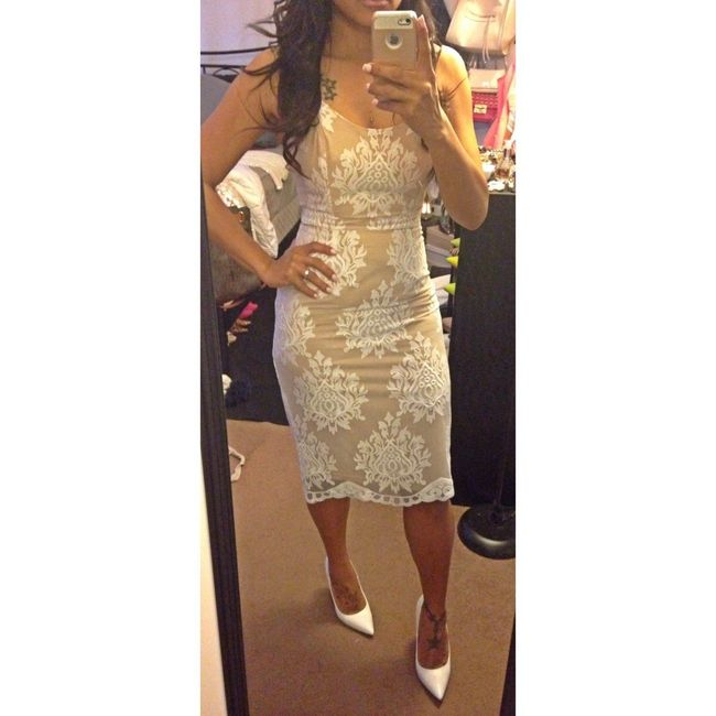 im starting to put together my looks and thinking this for my shower ill prob wear a white blazer as a coat as well