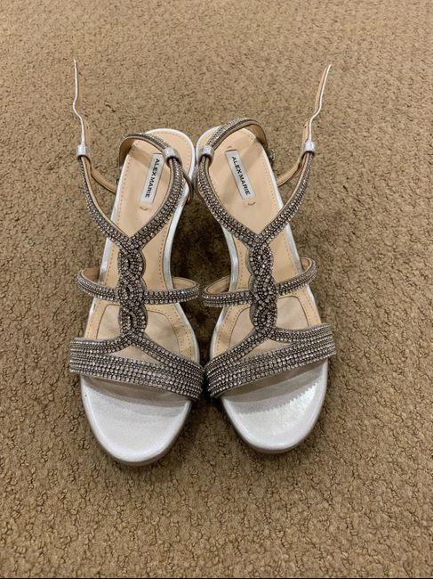 Petite brides - show me your shoes. 12