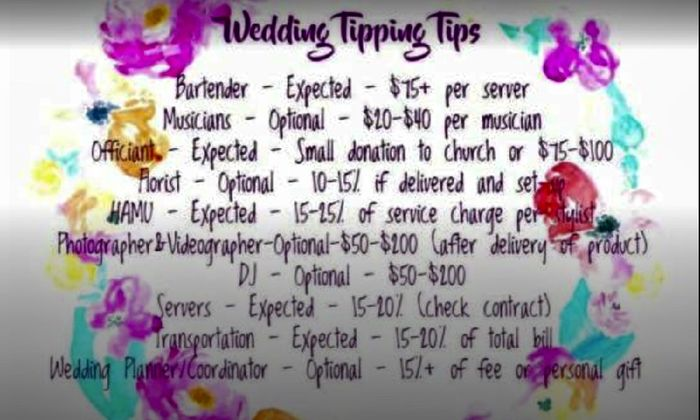 Tipping? 1