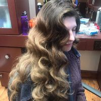 Had my hair trial yesterday - 1