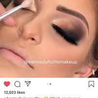 Eyeshadow for the big day - 1