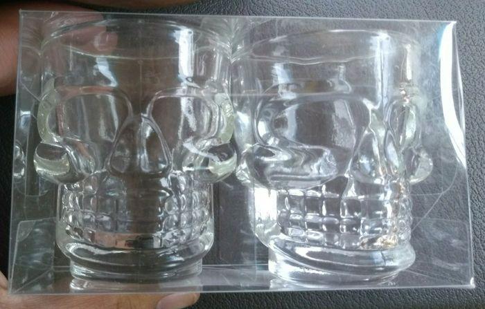 59dc4b7474 Cute Skull Shot Glasses at Dollar Tree!!