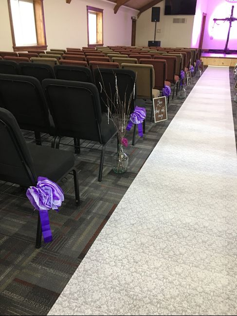Decorated our church today! 3