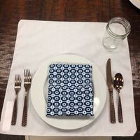 Table Linens - White or Colorful? - 1