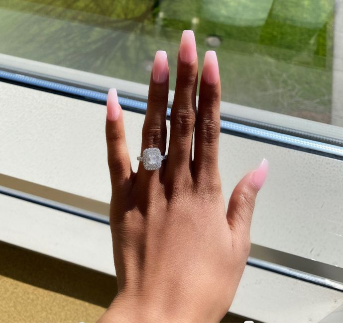 Did you pick your ring or were you completely surprised? 1