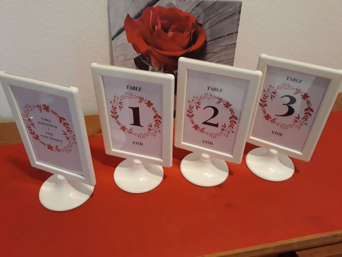Show Me Your Table Numbers! 4