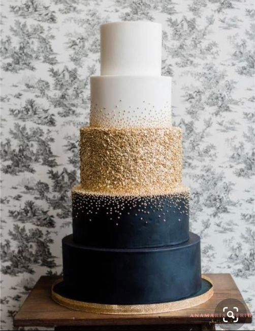 Wedding Cakes Without Flowers 9