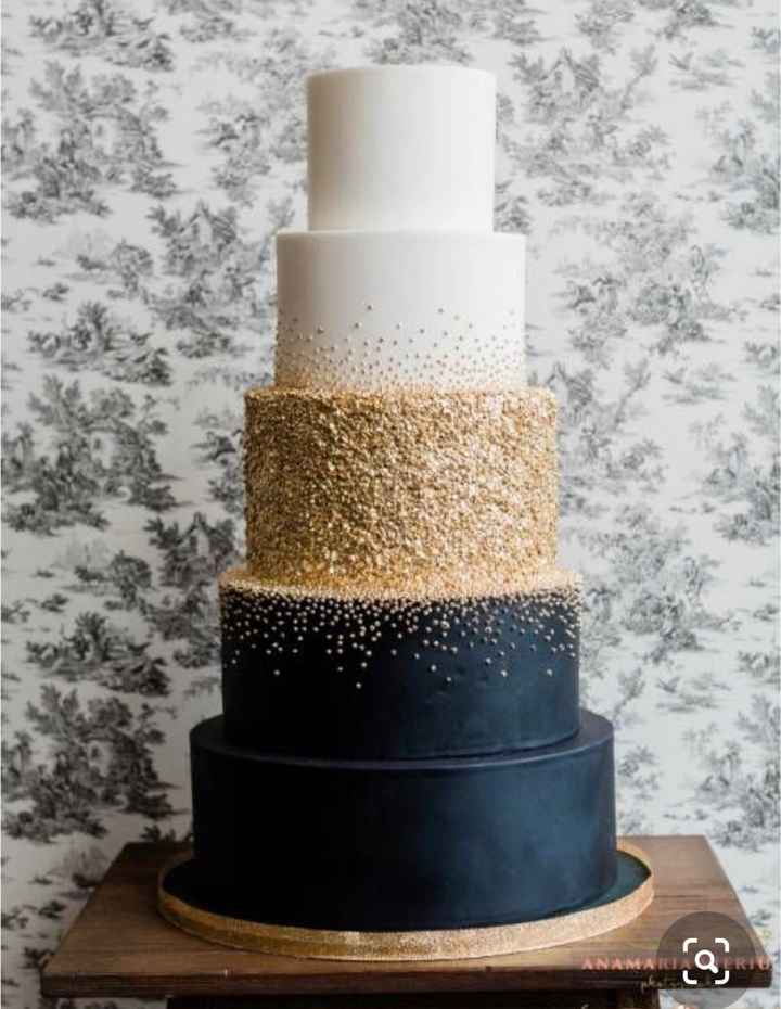 Wedding Cakes Without Flowers - 1