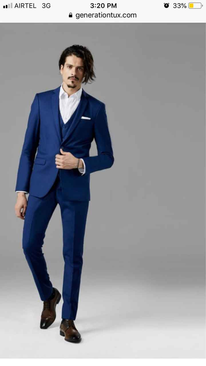 What color tux should the guys wear?? :) - 1