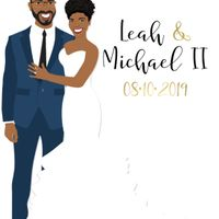 Couple custom illustration guestbook? - 1