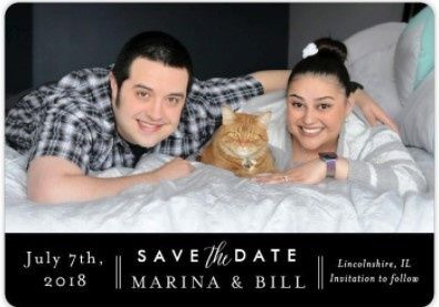 lets see your save the date Pictures! 3