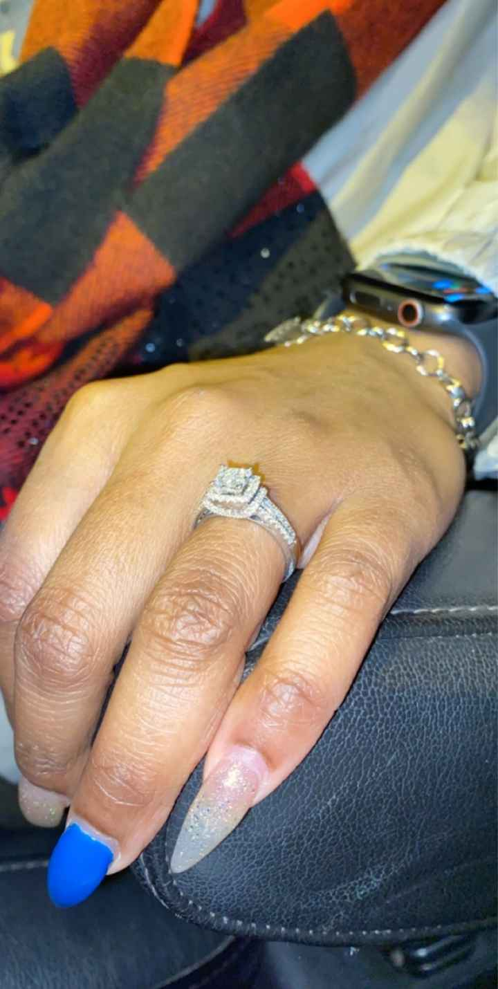 Lets see that Rock brides of 2021!! Share your engagement photos! - 3
