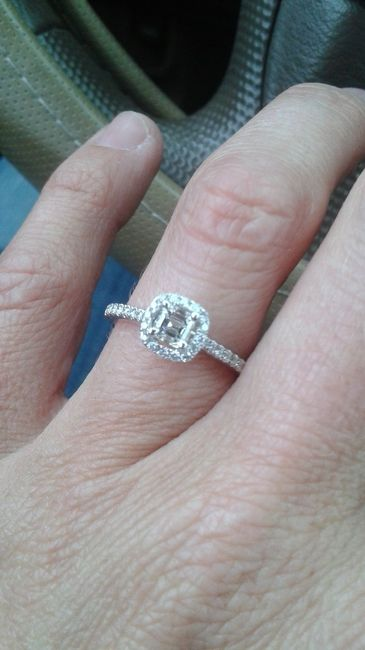 Your Engagement Ring: Total Surprise, Some Input, or Picked it Out Yourself? 9