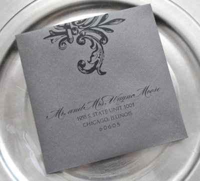 wedding invites question
