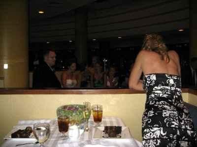 Captain's table?