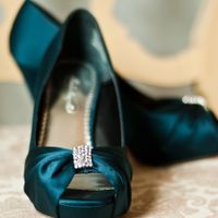 Glass slipper - show me your wedding shoes!