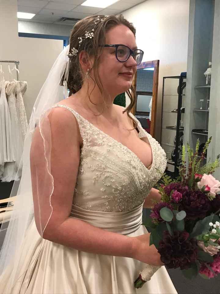 i found my dress! - 1