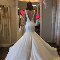 Which dress? Understated   modern vs. delicate   lacy (PICS)