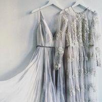Coloured or floral wedding dresses?