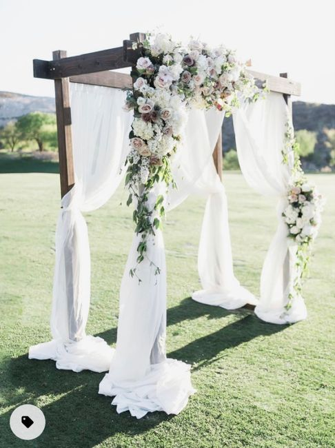 Where to find a ceremony arch 1