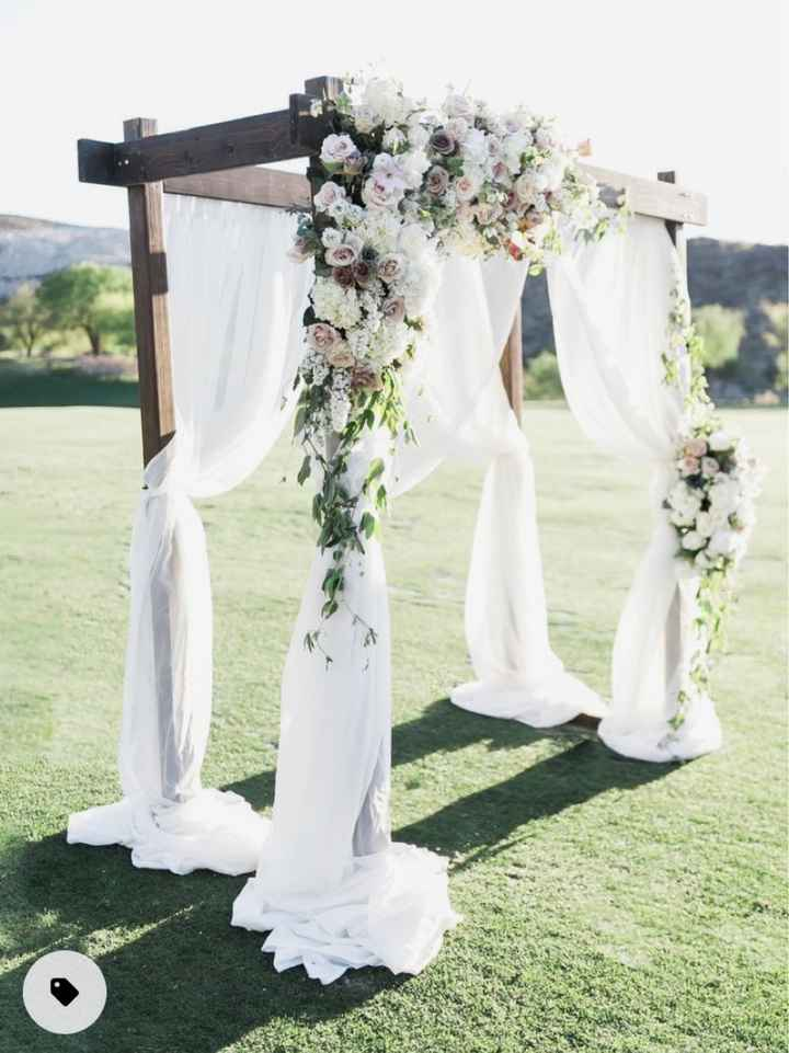 Where to find a ceremony arch - 1