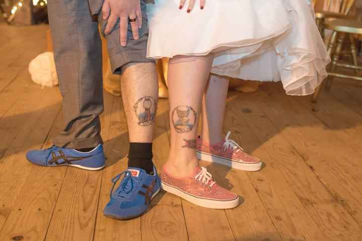 Is anyone NOT wearing heels?