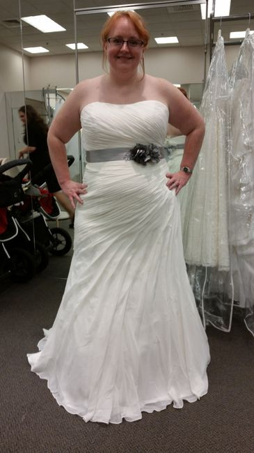 I can 39 t decide dress shopping weddings wedding for Can t decide on wedding dress