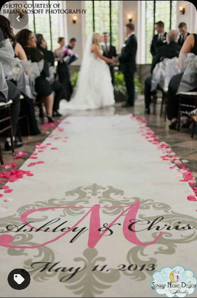 Wedding Aisle Runner! - 1