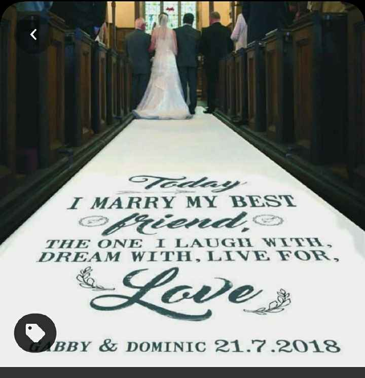 Wedding Aisle Runner! - 2