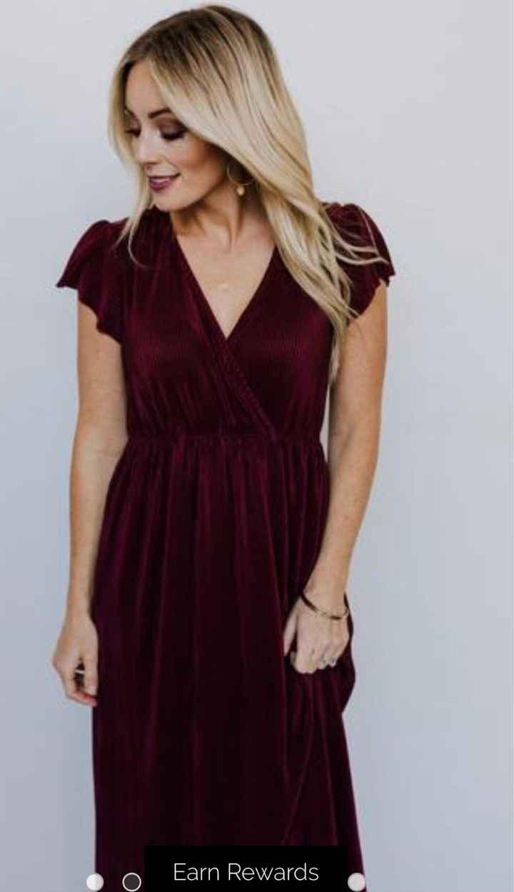 Velvet bridesmaid dresses? - 1