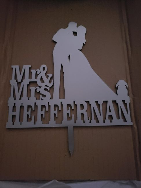 Let me see your cake topper! 5