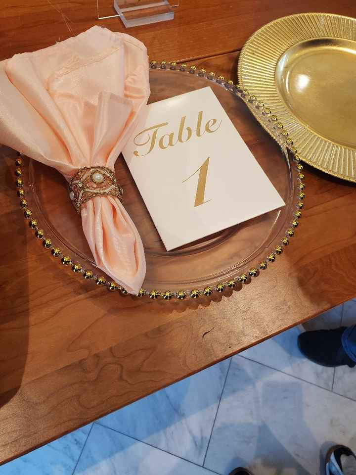 Table Numbers! - share yours!! - 1