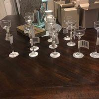 Stemmed Glass Tealight Holders - 1