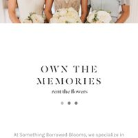 Something Borrowed Blooms - 1