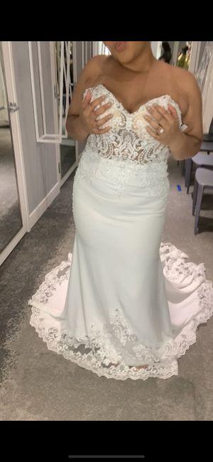 Dresses from David's Bridal 10