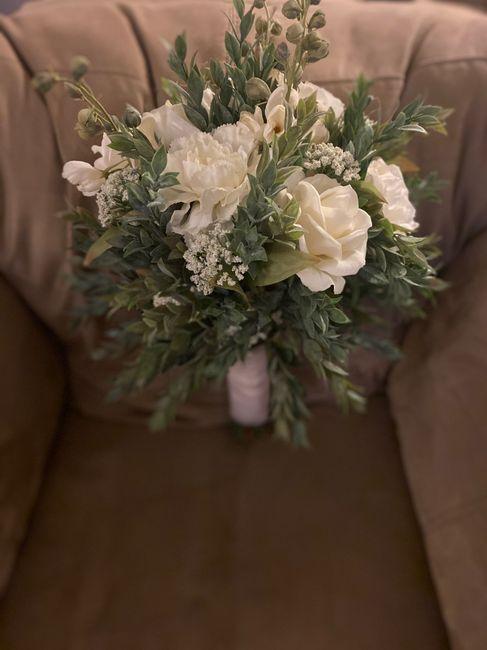 diy bridal bouquet 2