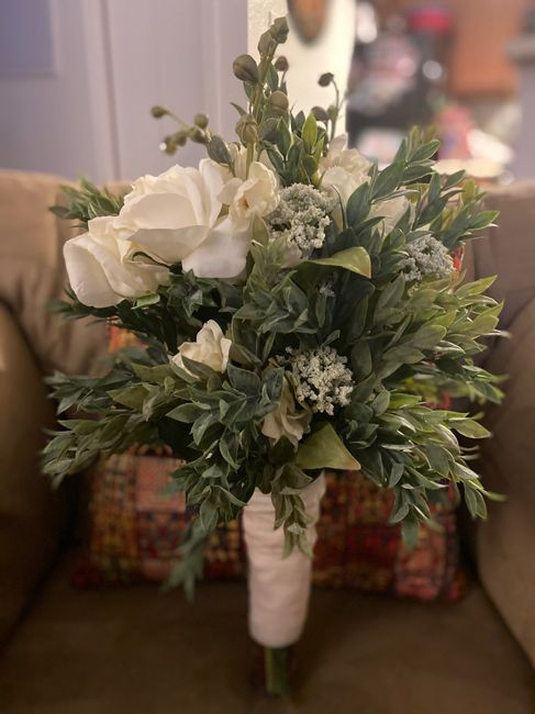 diy bridal bouquet 3