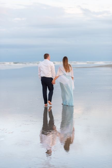 Anyone have engagement photos that are neither cutesy nor glam? - 3