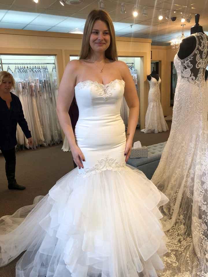 i said yes to the dress! - 1