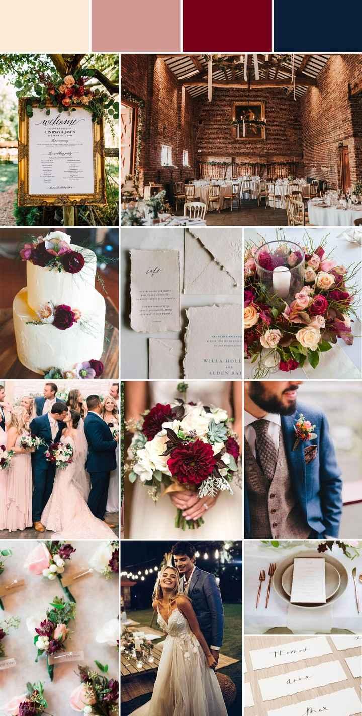 Wedding color scheme - 2