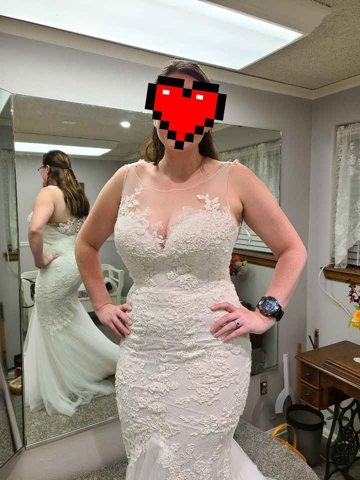 Second fitting down, two more to go! - 2