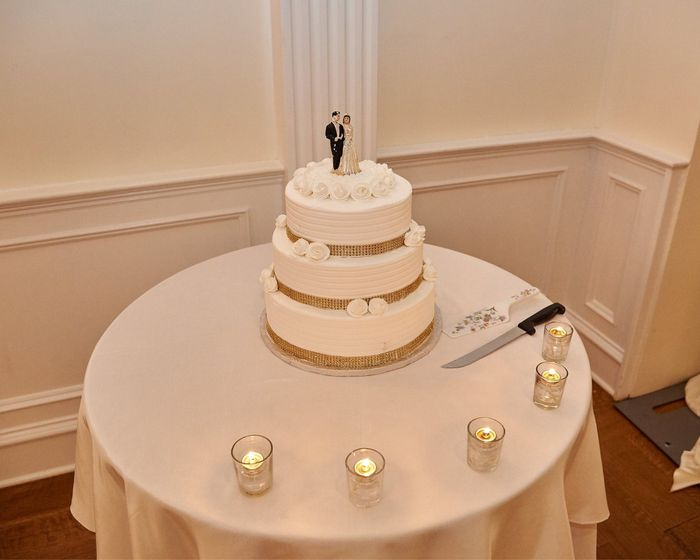 How many tiers does your cake have? 3
