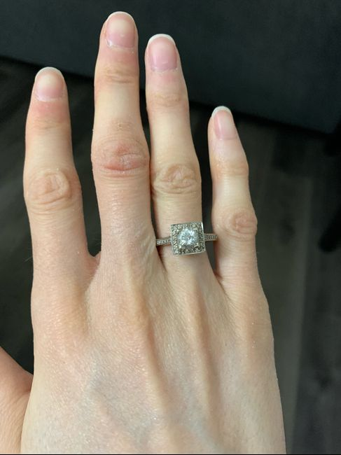 Family heirloom ring! / 9 months married 1