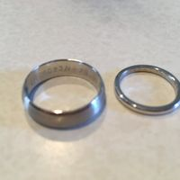 Average price of wedding bands? - 1