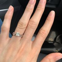 Natural nails ring pictures - 1