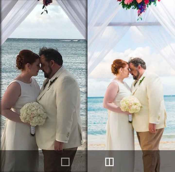 Did you marry without hiring a photographer?